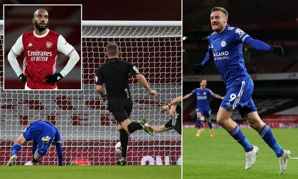 Arsenal 0-1 Leicester City