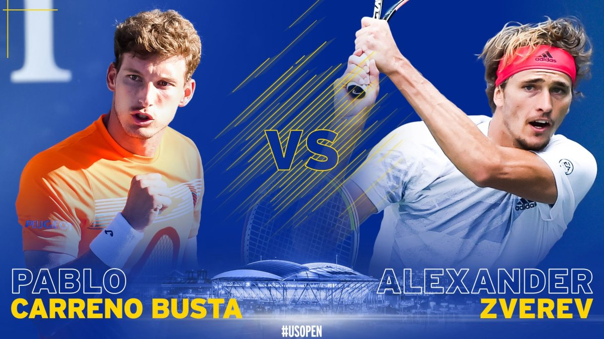 Alexander Zverev Vs Pablo Carreno Busta Us Open Preview Prediction