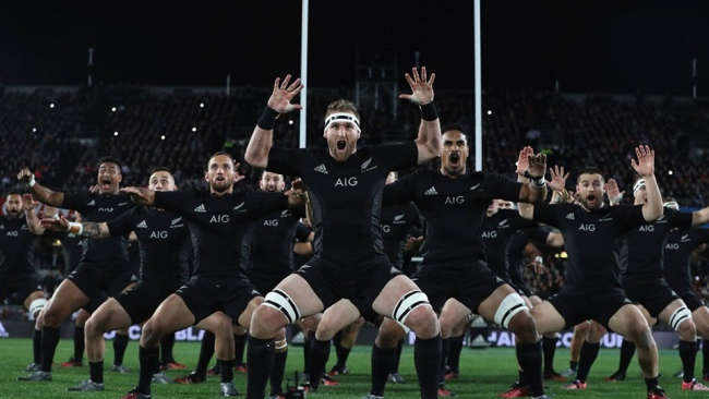 New Zealand Haka Rugby World Cup