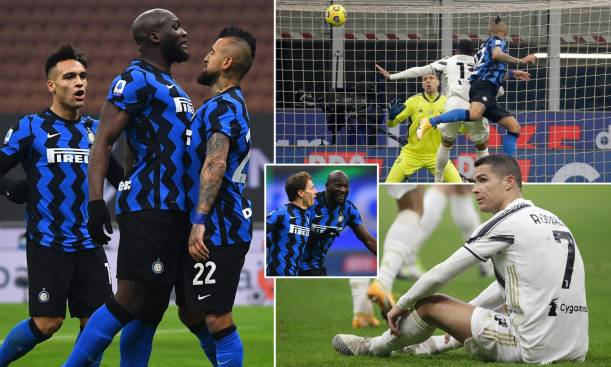 Juve suffered a loss to Inter in Serie A