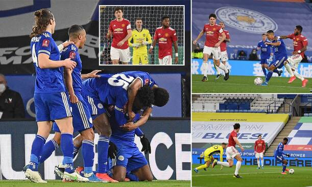 Leicester City 3-1 Man United