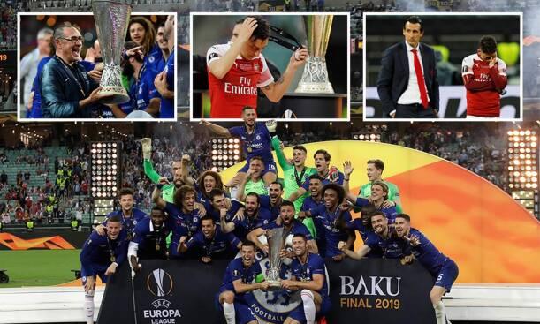 Chelsea vs Arsenal Europa League Final