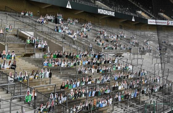 Bundesliga empty stadiums Premier League