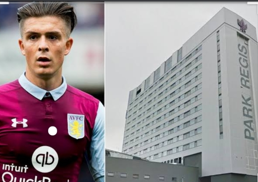 Jack Grealish was found at a Birmingham Hotel which was later shut down by police