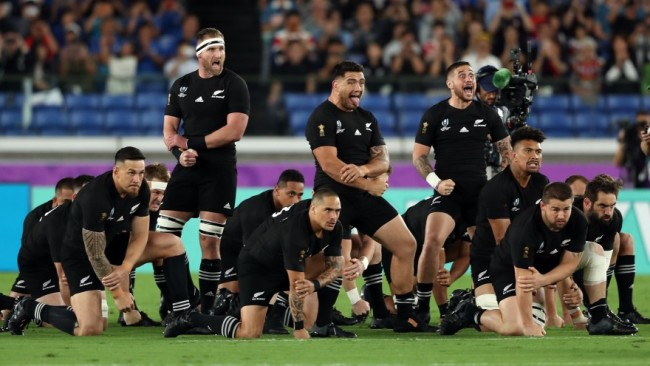 All Blacks Rugby World Cup 2019