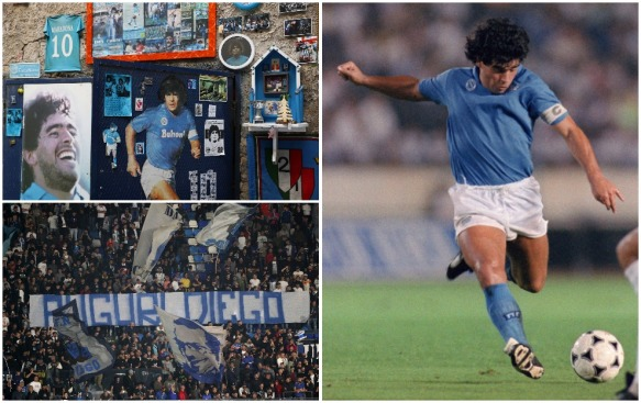 Diego Maradona's love from football fans is unparalled