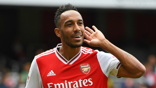 Pierre Emerick Aubameyang Arsenal Xavi