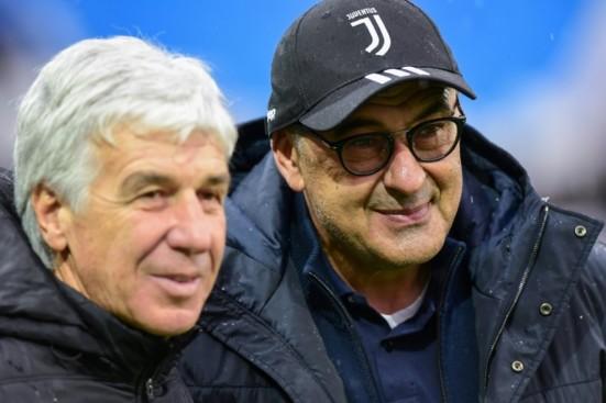 Gian Piero Gasperini Maurizio Sarri Atalanta Juventus