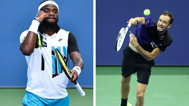 Tiafoe and Medvedev