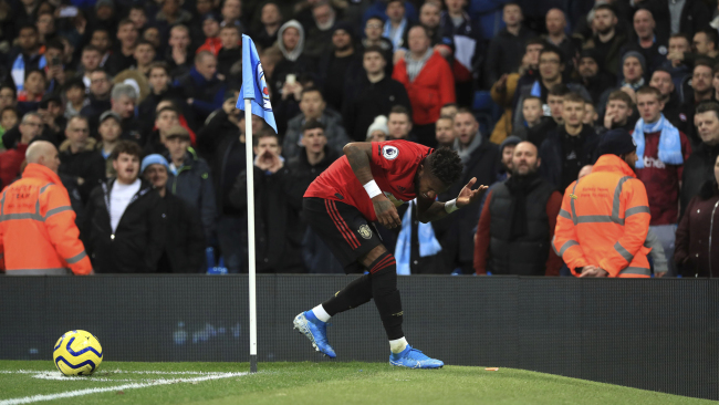 Fred Manchester City vs Manchester United