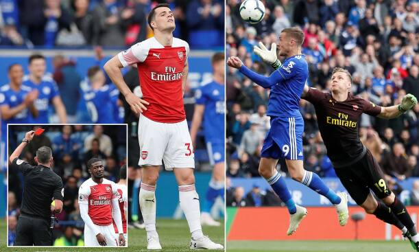 Leicester City 3-0 Arsenal