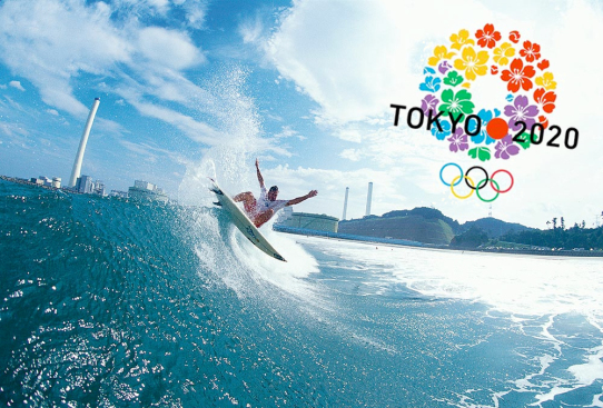 Surfing at Tokyo Olympics