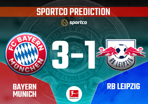 Bayern vs RB Leipzig Sportco Prediction