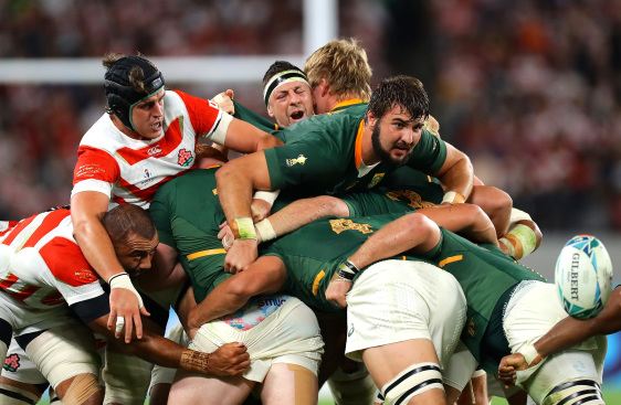 Springboks maul South Africa vs Japan Rugby World Cup 2019