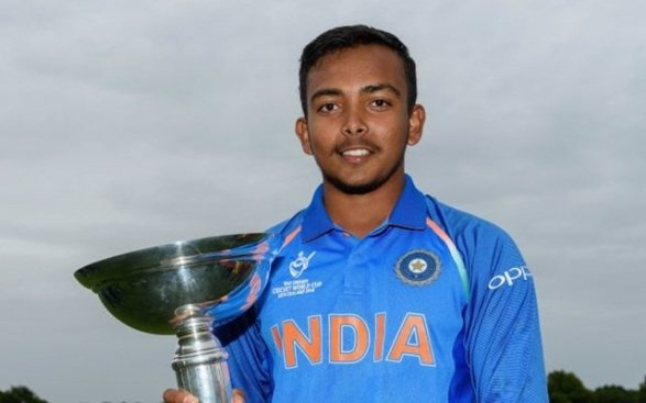 Prithvi Shaw (picture credits: M.crictracker.com) Dhawan