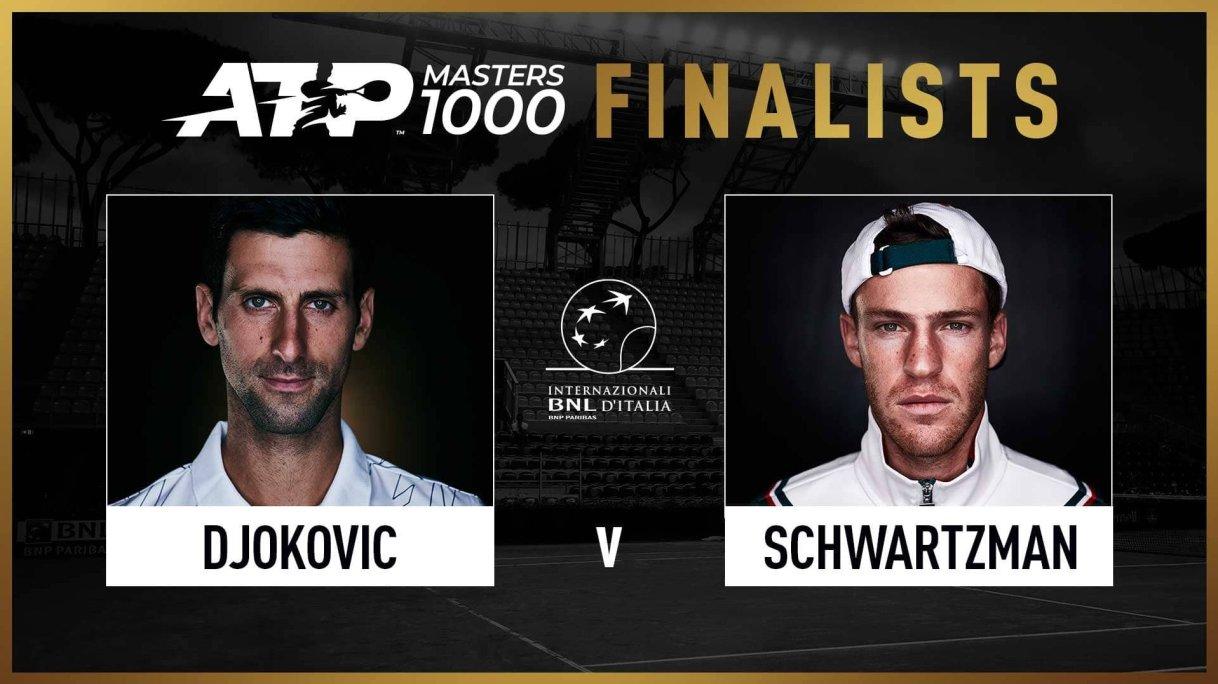 Novak Djokovic Vs Diego Schwartzman Rome Preview Prediction
