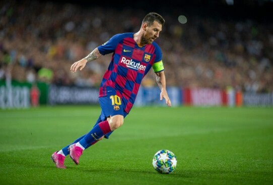 Most goals for Barcelona scored by Lionel Messi