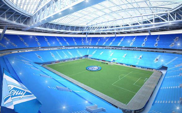 St Petersburg Stadium, Krestovsky Island - Verdict Designbuild