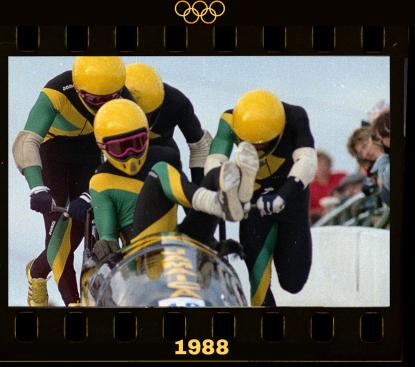 Jamaican bobsleigh Olympics