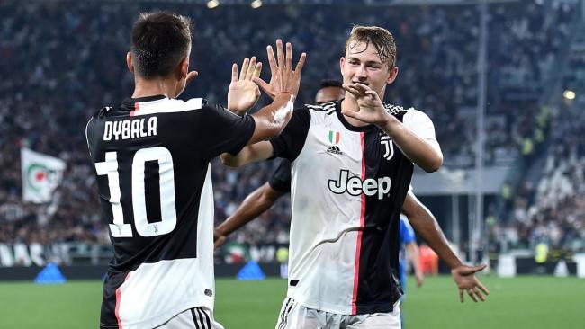 Paulo Dybala Matthijs de Ligt Juventus