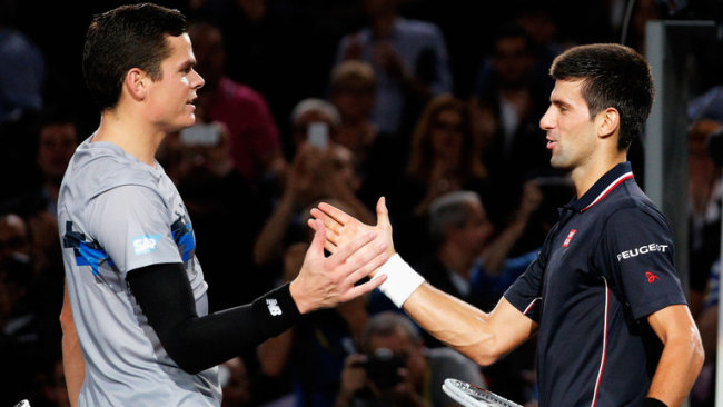 Raonic vs Djokovic