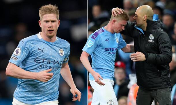 De Bruyne has enjoyed a great professional relationship with Pep Guardiola at Man City