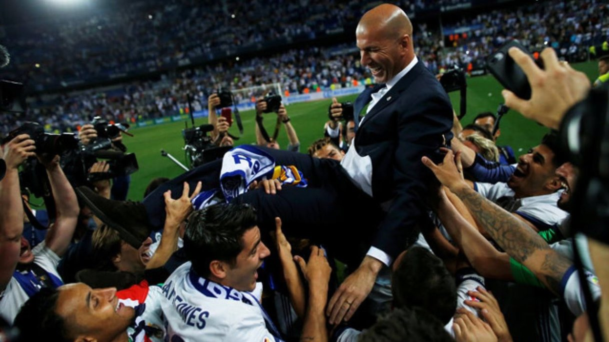 Winning is in Real Madrid DNA, says Zidane