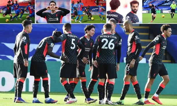 Crystal Palace vs Liverpool in pictures