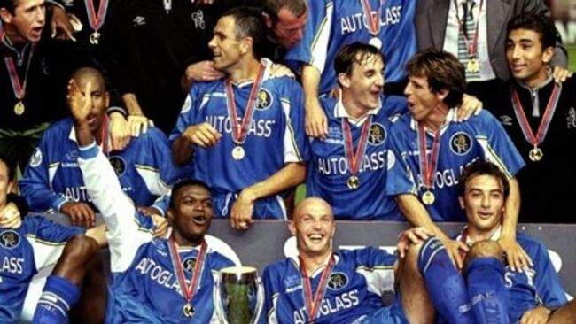 chelsea winning the super cup in 1998