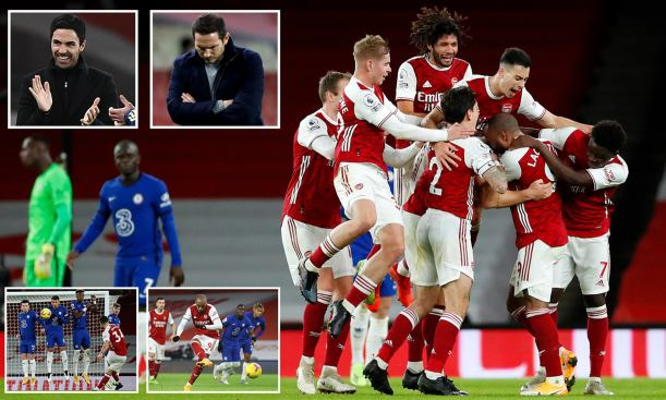 The Gunners got back to winning ways against Chelsea