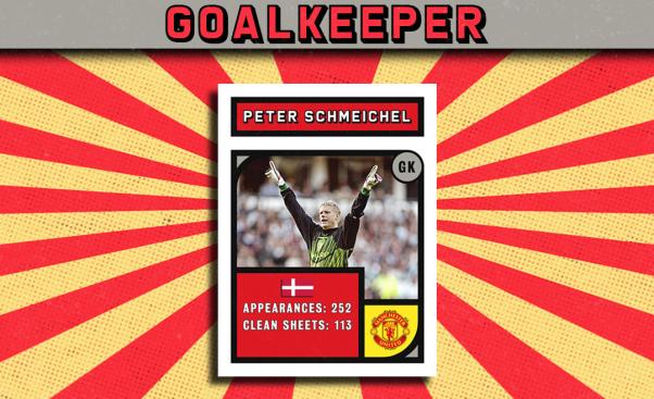 Peter Schmeichel Premier League Team of the 1990s