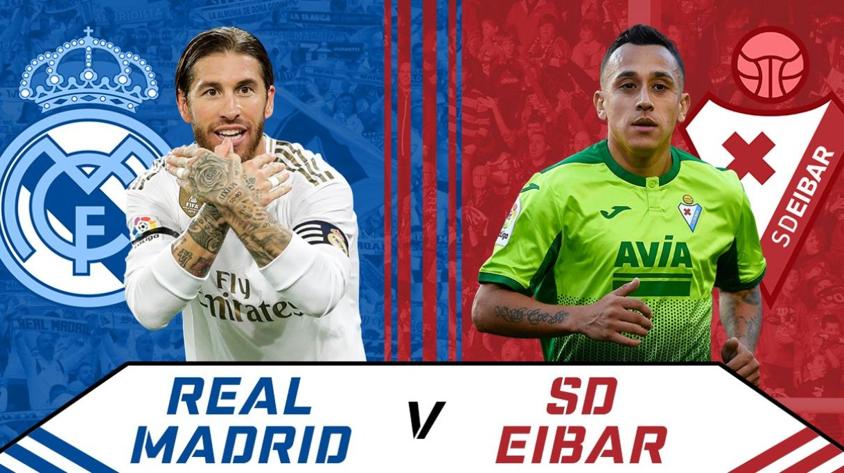 Eibar v real madrid betting preview nfl afl betting tips round 18