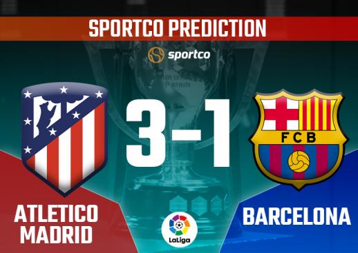 Athletico Madrid vs Barcelona Sportco Prediction