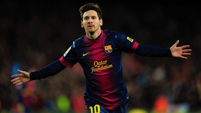 Lionel Messi has scored most goals in a calendar year