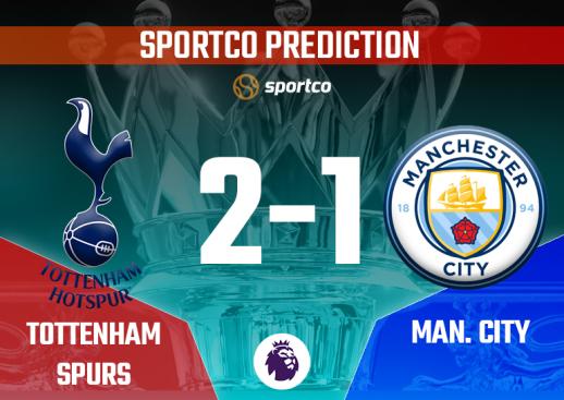 Tottenham Hotspurs vs Manchester City prediction