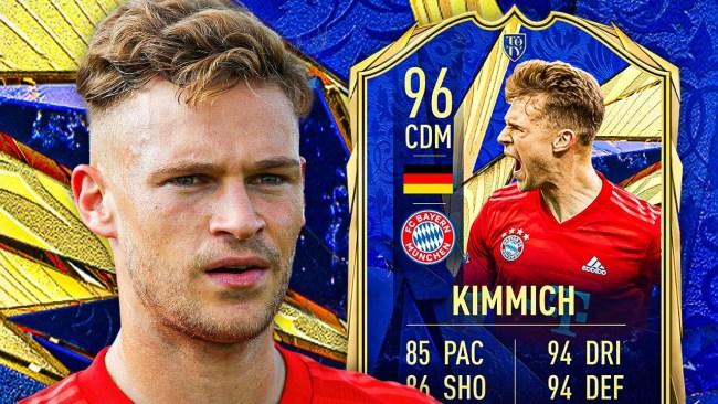 Joshua Kimmich TOTY FIFA 21