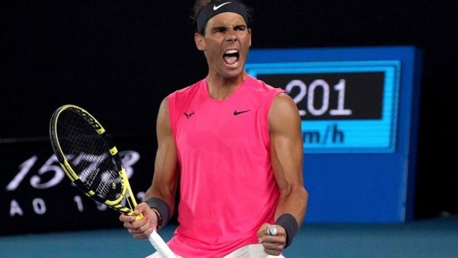 Rafael Nadal is one of the favourites for the Aus Open crown in 2021