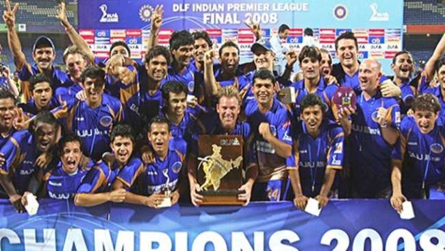 Rajasthan Royals won the first ever IPL edition in 2008