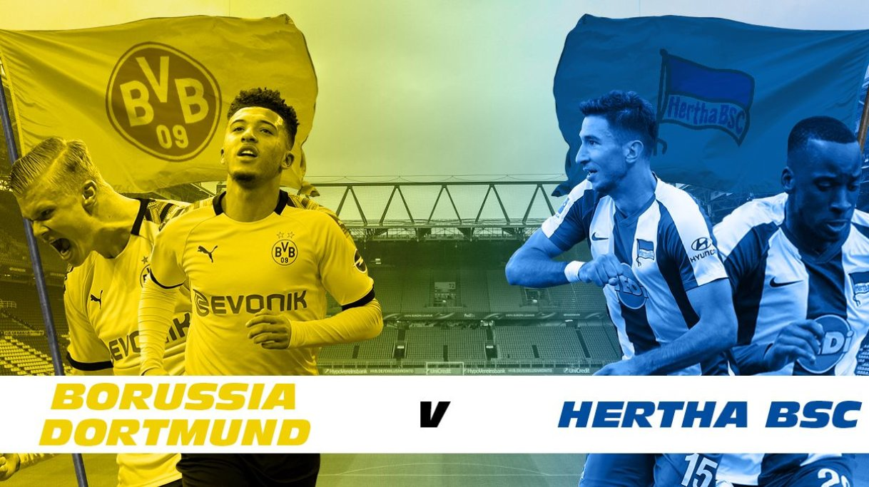 Borussia Dortmund vs Hertha Berlin: Prediction, Lineups, Team News, Betting Tips & Match Previews