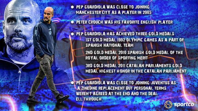 Pep Guardiola facts