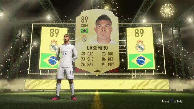 Casemiro FIFA 21