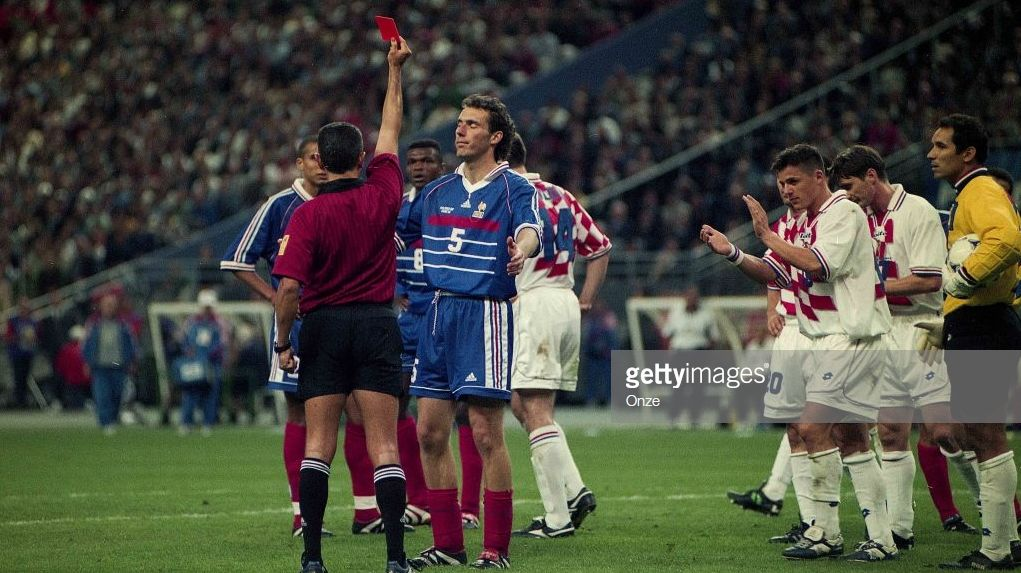 Five Controversial Red Cards In The History Of The Sport Of