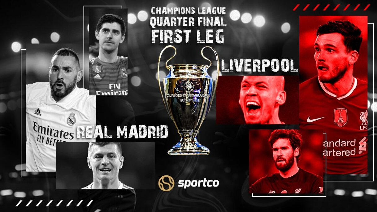 Real Madrid vs Liverpool Quarter Final First-Leg Prediction: UCL 2020-21:  Alfredo Di Stefano Stadium will be the venue