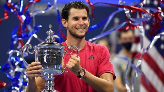 Dominic Thiem won the 2020 US Open