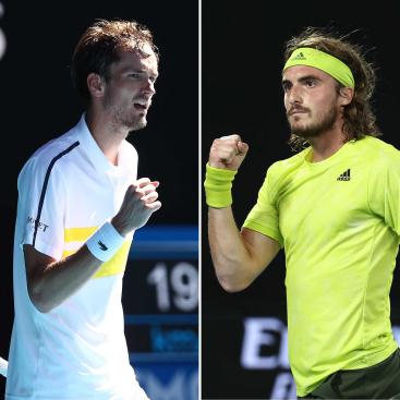 Medvedev vs Tsitsipas Australian Open