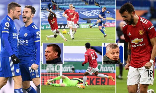 Leicester City 2-2 Man United
