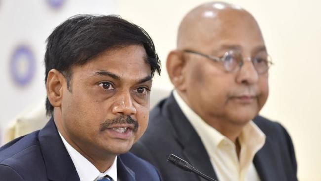 The outgoing Indian chief selector MSK Prasad (Photo: Hindustan Times)  BCCI