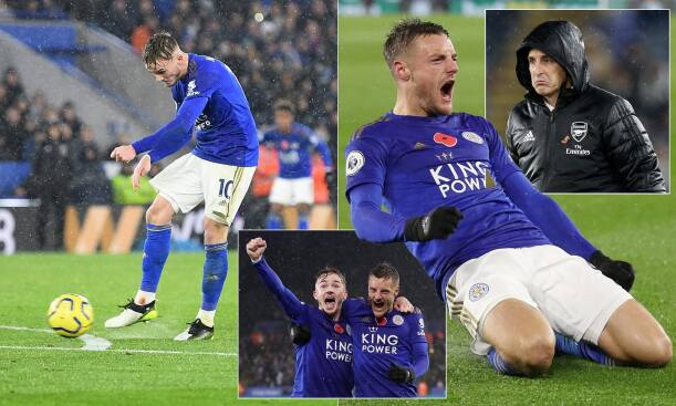 Leicester City 2-0 Arsenal