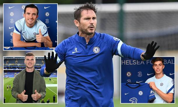 Frank Lampard as Chelsea manager