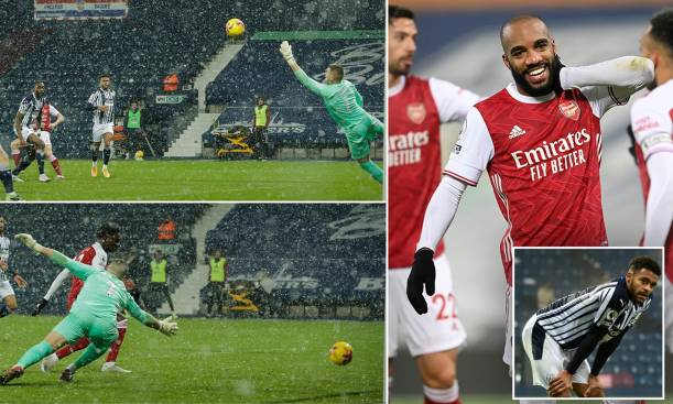 It was too easy against west Brom for Arsenal